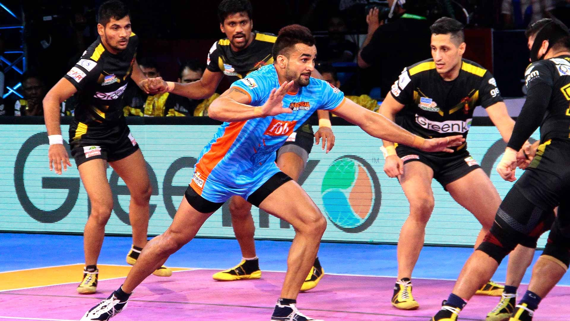 services in the game of Kabaddi