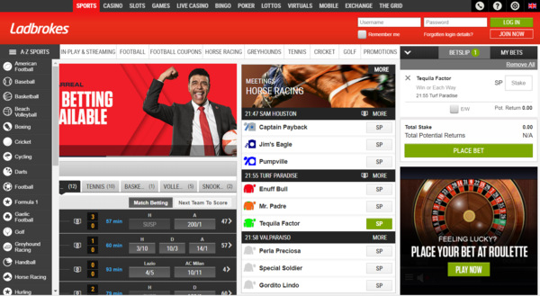 Ladbrokes gambling company